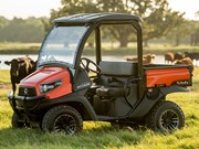 Kubota RTV520 utility vehicle released