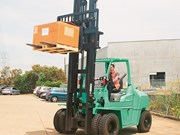 Review: Mitsubishi Grendia FD70N diesel forklift
