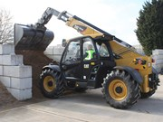 Cat brings out compact TH3510D telehandler