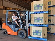 Product focus: Toyota 8FD25 forklift in melon country