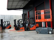 Bravi LUI 460 EWP arrives at Latrobe Valley Forklifts