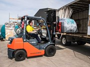 Product focus: Rapid Spray marks 10 years with Toyota forklifts