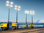 Redstar adds Atlas Copco HiLight lighting towers