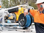 New Aussie Peacekeeper pressure cleaner keeps things quiet