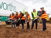 First sod turned on massive Woolworths facility