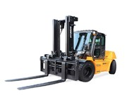 Hyundai High Performance Forklifts re-launch in Aus