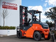 TMHA launches electric forklifts