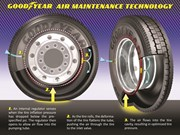 Goodyear to test self-inflating tyre technology on trucks