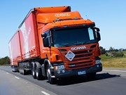 We Drive TNT'S New Euro 6 Scania P450