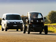 Electric Renault Kangoo ZE van review