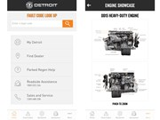Detroit engine customers get dedicated app