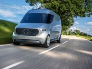 Daimler creates new commercial vehicle arm, van concept