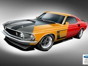 Ford to licence official continuations of Boss 429, 302 and Mach 1 Mustangs