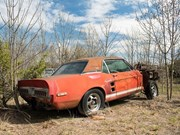 "1967 Shelby GT500 EXP ""Little Red"" Prototype found after 50 years"