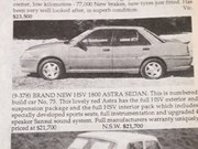 HSV Astra + Lincoln Continental + Mercury Cougar - Ones That Gotaway 420
