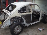 VW Super Beetle Build - Our Shed