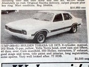Torana G-Pack + Camaro + Jaguar XJC - Ones That Got Away 427