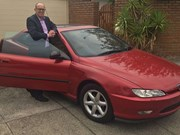 1998 Peugeot 406 coupe SV - Reader Ride