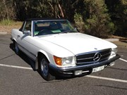 1981 Mercedes-Benz 280SL R107 – Today's Tempter