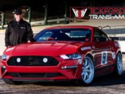 Moffat replica Mustang launched by Tickford