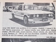 BMW 323i Alpina + Porsche 356B + Chrysler AP6 V8 - Ones That Got Away 432