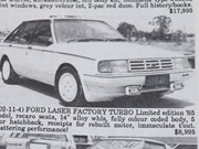 Ford Laser Turbo + Alfa Romeo Giulia SS + Honda NSX + Ferrari Daytona - Ones That Got Away 434