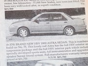 HSV Astra + BMW 2000CS + Ferrari 500 + Dodge Phoenix - Ones That Got Away 436