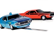 Scalextric set + car books + HSV GTSR print + Shelby wheel - Gearbox 436