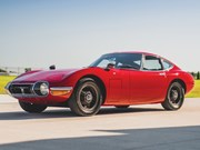 Rare left-hand drive 1967 Toyota 2000GT at RM Sotheby's Elkhart auction