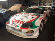 Iconic TOM'S Castrol Toyota Supra racecar found abandoned in Japan