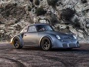 Restomod 'RSR-style' twin-turbo Porsche 356 for auction at RM Sotheby's