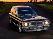 Ford Falcon XY GS panel van review