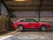Barn find Audi Quattro heads to auction after 25-years of dormancy