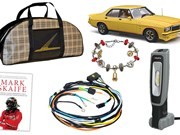 Monaro model + Skaife book + Holden charm bracelet + more - Gearbox 446
