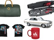 Falcon GT-HO model + Duffle bag + Roush toolkit + more - Gearbox 448