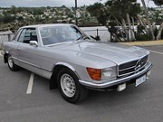 Mercedes-Benz 350SLC - today's tempter