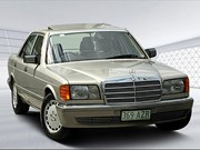 Mercedes-Benz W126 300SE - today's luxo tempter