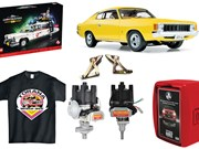 Charger model + HSV quiz + bonnet hinges + Torana t-shirt - Gearbox 450