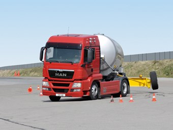 Press release: MAN technology reduces truck accidents