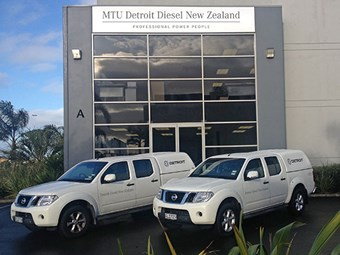 MTU Detroit Diesel New Zealand sole MTU and Detroit distributor
