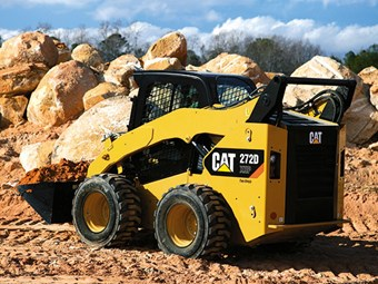 Cat D Series skid steers