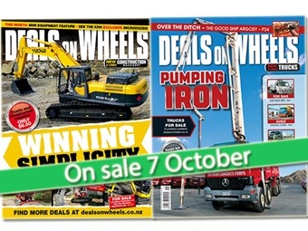 What's in the November issue of Deals on Wheels?
