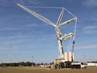 TEREX AC 500-2 TAKES CENTRE STAGE AT DEEP SOUTH CRANE RENTALS OPEN HOUSE