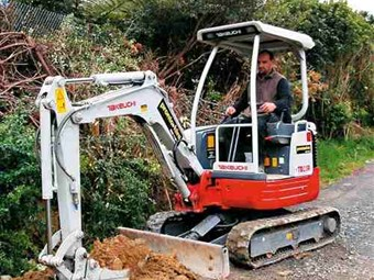 The Takeuchi TB23R: rugged, reliable and reduced in size