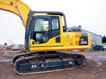 Nightcaps Contracting gets reliable performance from Komatsu