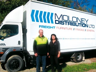 Truckie profile: Vaughan Moloney