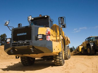 Komatsu ADTs tough in the rough