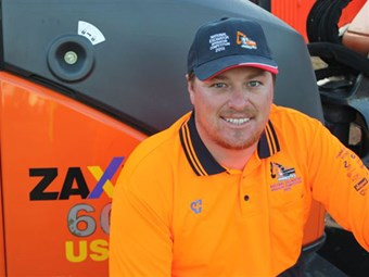 Bay of Plenty's James Lux wins National Excavator Operator title