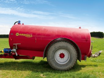 Test: Marshall ST2550 Slurry Tanker