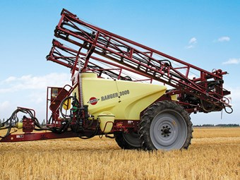 Test: HARDI Ranger 3000 Sprayer